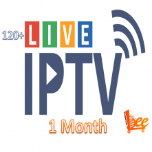 Live TV IPTV Package (1 Month)