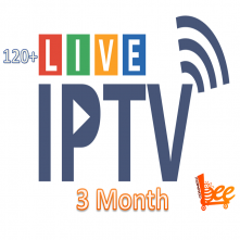 Live TV IPTV Package (3 Month)