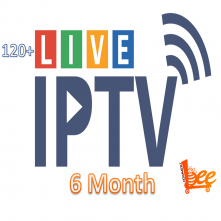 Live TV IPTV Package (6 Month)